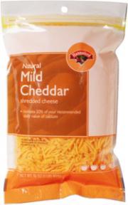 Hannaford Mild Cheddar Shredded Cheese