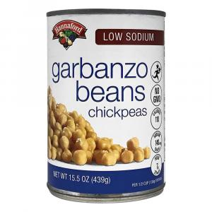 Hannaford Low Sodium Garbanzo Beans