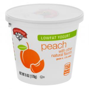 Hannaford Lowfat Yogurt Peach