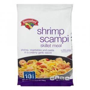 Hannaford Shrimp Scampi