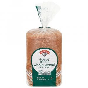 Hannaford Whole Grain 100% Whole Wheat Bread