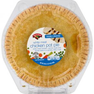 Hannaford White Meat Chicken Pot Pie