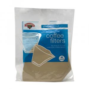 Hannaford Natural Cone Coffee Filters