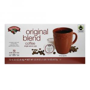 Hannaford Original Blend Coffee Single Serving Cup