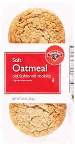 Hannaford Chewy Oatmeal Cookies