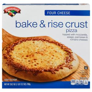 Hannaford Bake & Rise Four Cheese Pizza