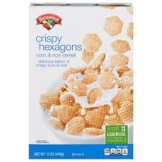 Hannaford Crispy Hexagons Cereal