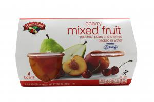 Hannaford Cherry Mixed Fruit Bowls