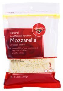 Hannaford White Mozzarella Shredded Cheese