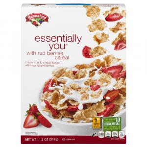 Hannaford Essentially You w/Red Berries Cereal