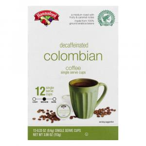 Hannaford Colombian Blend Decaffeinated Coffee