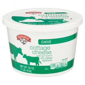 Hannaford Chive Cottage Cheese