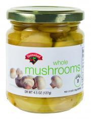 Hannaford Whole Mushrooms
