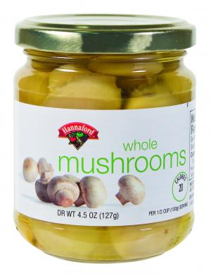 Hannaford Whole Mushrooms