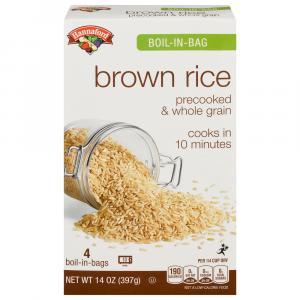 Hannaford Boil-in-Bag Brown Rice