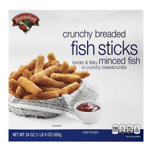 Hannaford Crunchy Breaded Fish Sticks