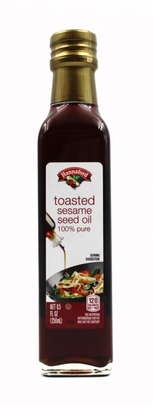 Hannaford Toasted Sesame Seed Oil