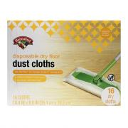 Hannaford Disposable Dry Floor Dust Cloths