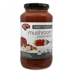 Hannaford Mushroom & Onion Pasta Sauce