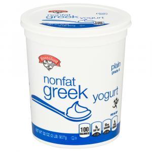 Hannaford Plain Nonfat Greek Yogurt