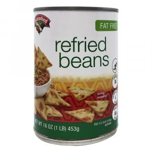 Hannaford Fat Free Refried Beans