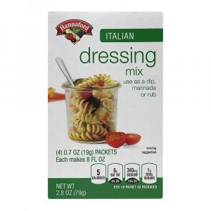 Hannaford Italian Dressing Mix