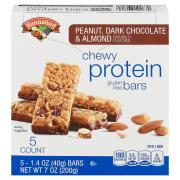 Hannaford Peanut, Dark Chocolate & Almond Protein Bars