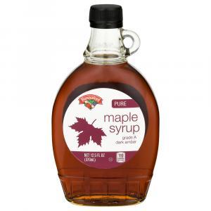 Hannaford Dark Amber Maple Syrup
