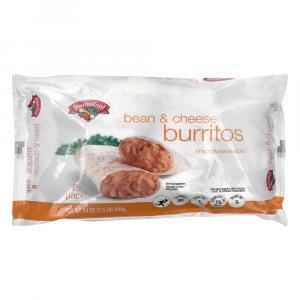 Hannaford Bean & Cheese Burrito