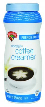 Hannaford French Vanilla Non-Dairy Creamer