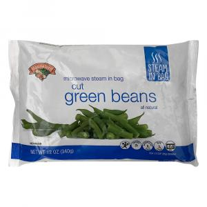 Hannaford Microwave Steam-in-Bag Cut Green Beans