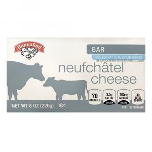 Hannaford Neufchatel Cheese Bar
