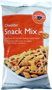 Hannaford Cheddar Snack Mix