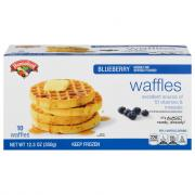 Hannaford Blueberry Waffles