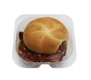 Sweet Heat BBQ Roast Beef Sandwich