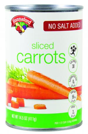 Hannaford No Salt Added Sliced Carrots
