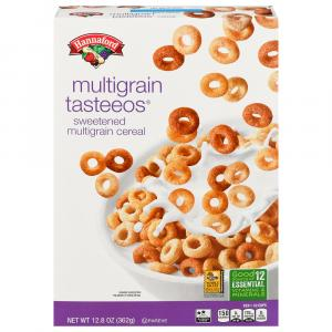 Hannaford Multigrain Tasteeos Cereal