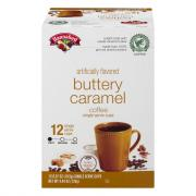 Hannaford Buttery Caramel Coffee Single Serving Cup