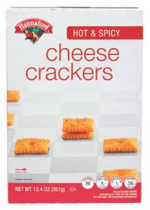 Hannaford Hot & Spicy Crackers
