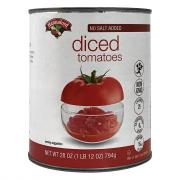 Hannaford No Salt Added Diced Tomatoes
