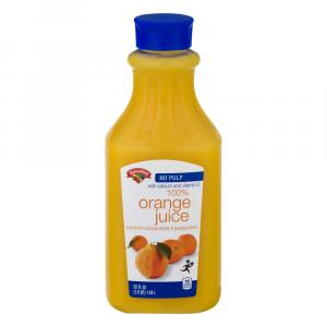 Hannaford Premium No Pulp Orange Juice with Calcium