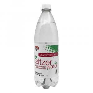 Hannaford Cranberry Lime Seltzer Water