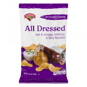Hannaford All Dressed Potato Chips