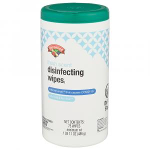 Hannaford Disinfecting Wipes Fresh Scent