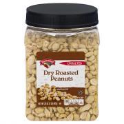 Hannaford Unsalted Dry Roasted Peanuts