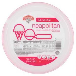 Hannaford Neapolitan Ice Cream