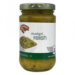 Hannaford Mustard Relish