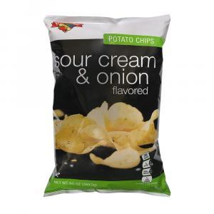 Hannaford Sour Cream & Onion Potato Chips