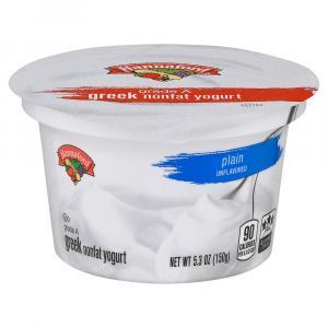 Hannaford Greek Nonfat Plain Yogurt