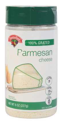 Hannaford Grated Parmesan Cheese